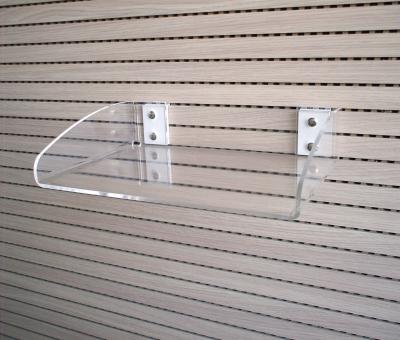 """Vaschetta con attacco """"Easy-On"""" per A4 O, in plexiglass trasparente. Portata max 2 Kg."""